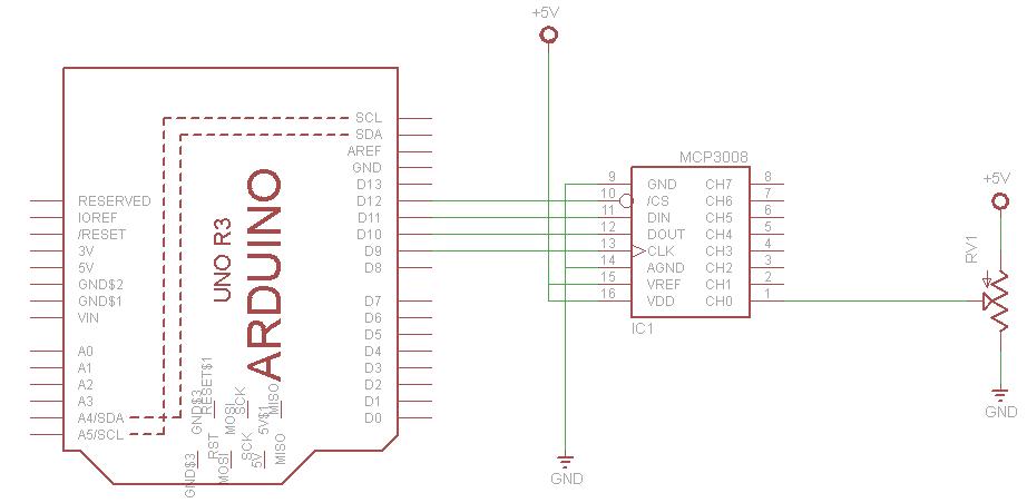Arduino-and-MCP3008