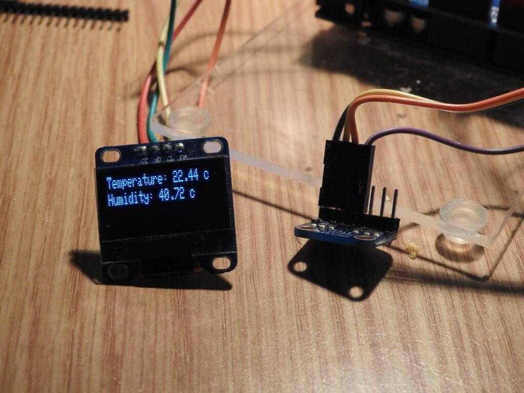 HDC1008 output
